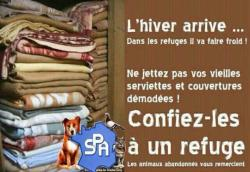 Spa hiver couvertures